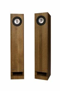 Middle Oak Silver Speakers
